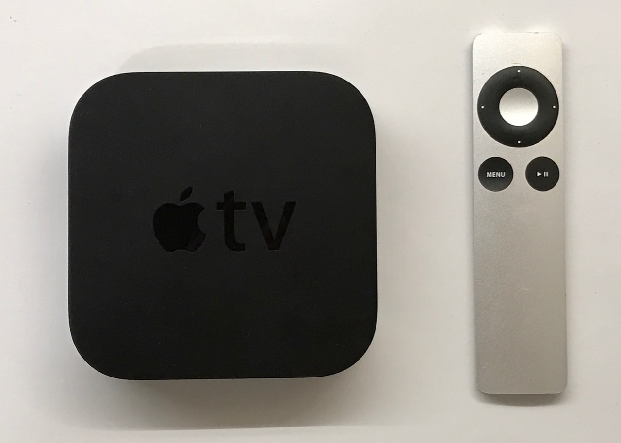 apple tv 3 mit fernbedienung und ovp a 1427 3. Black Bedroom Furniture Sets. Home Design Ideas
